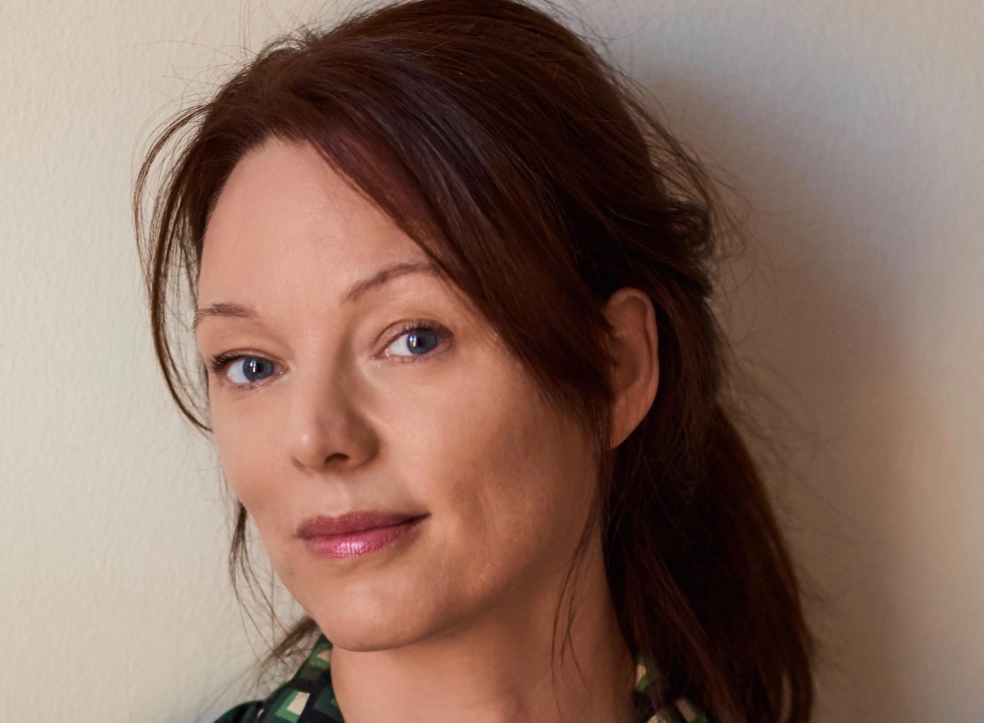 """Lina Wolff har høstet svært gode kritikker med romanen """"Kjøttets tid"""" Foto: Gustav Bergman"""