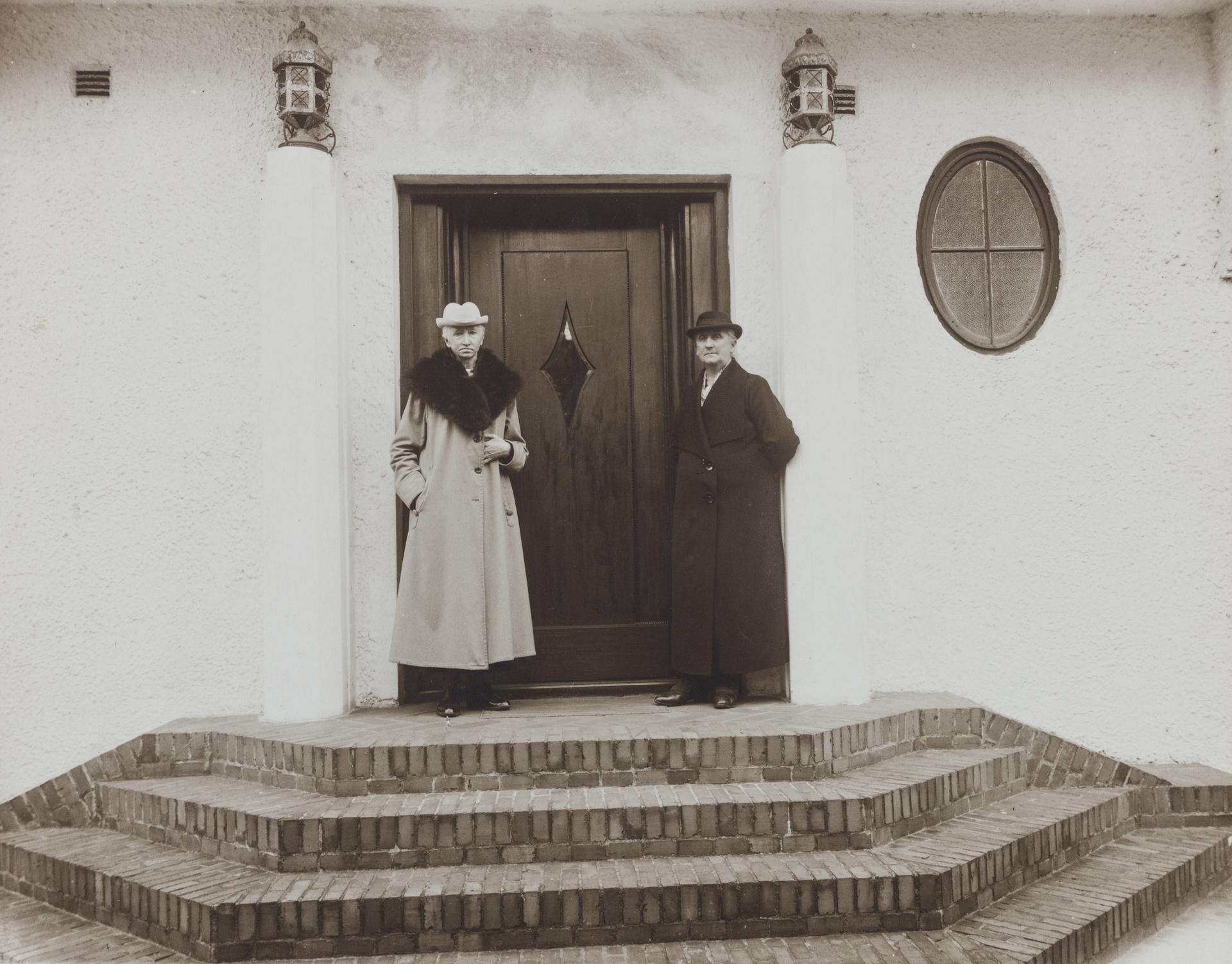"""""""Norges kvinnelige skipsredere"""" med Hanna Brummenæs og Bertha Torgersen."""