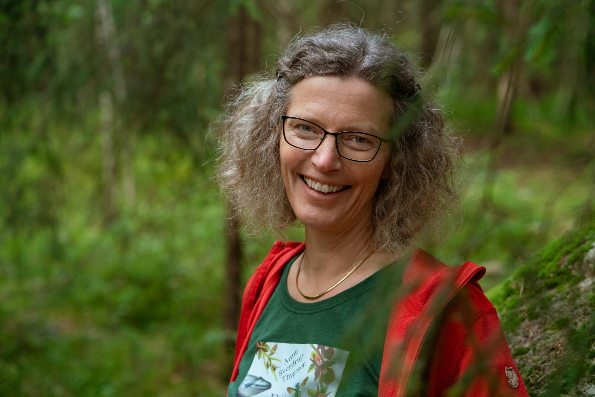 På naturens skuldre. Foto: Celina Øier
