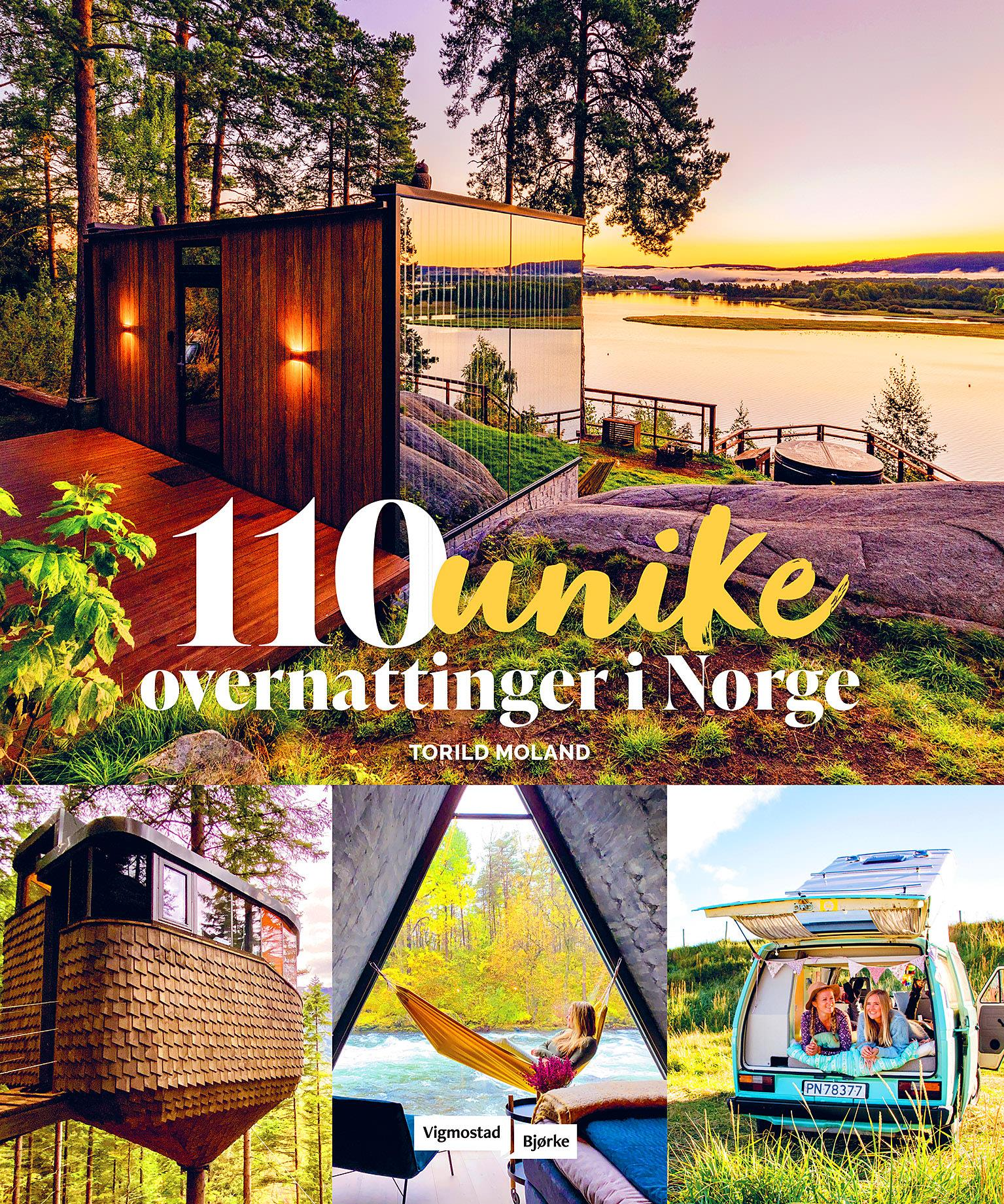 «110 unike overnattinger i Norge»