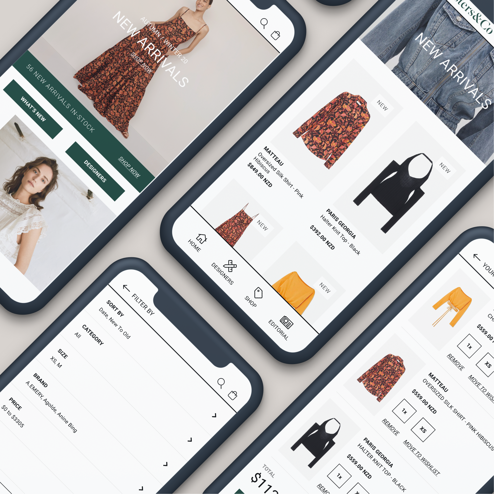 Shopify Plus partners for one of New Zealand's leading high-end department stores.