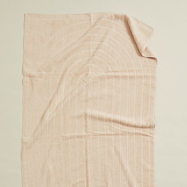 Sentinel Organic Cotton Bath Sheet - Clay