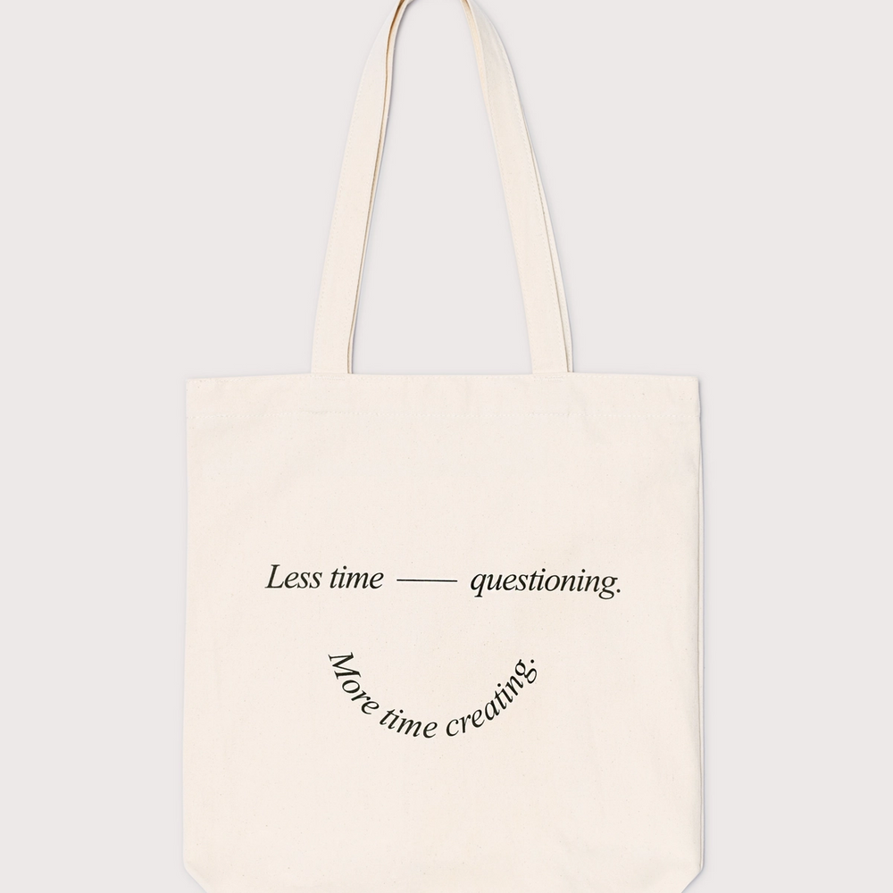 Freelance Founders tote bag designed by Sarita Walsh