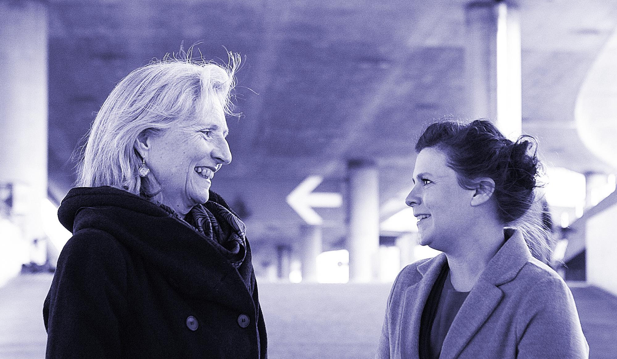 Jeannine Grob und Carlotta Binder