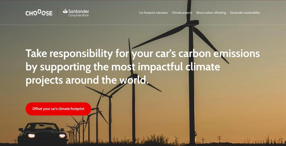 the Spanish bank has developed a uniquely holistic, international, and multi-language integration to decarbonize the bank's services with integrations into products, events, partner sites, embedded apps, and more.
