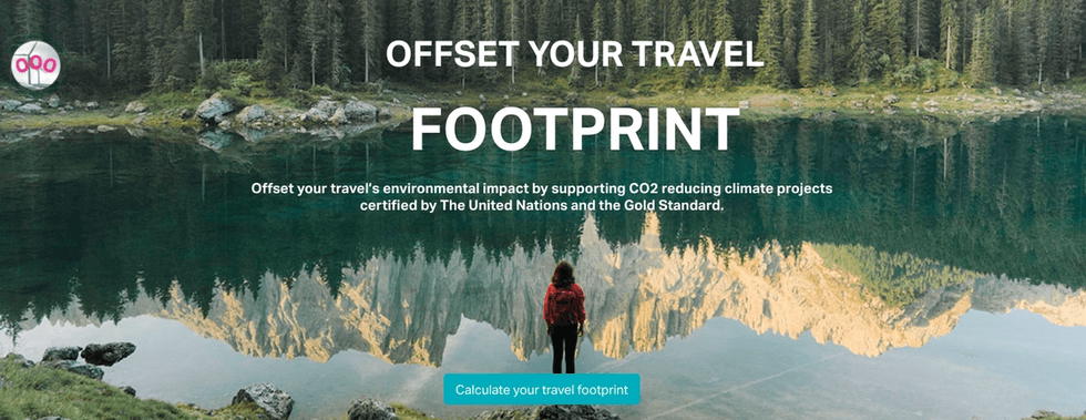 Offset your travel footprint with Copolo and CHOOOSE