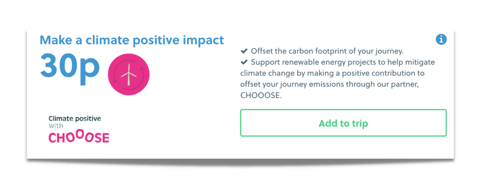 National Express climate opt in.