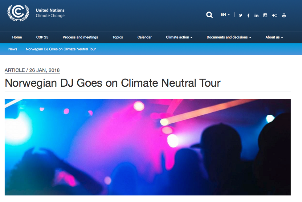 The world's first climate positive tour with Matoma and CHOOOSE
