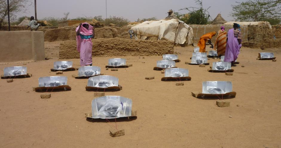 Solar cookers, Chad