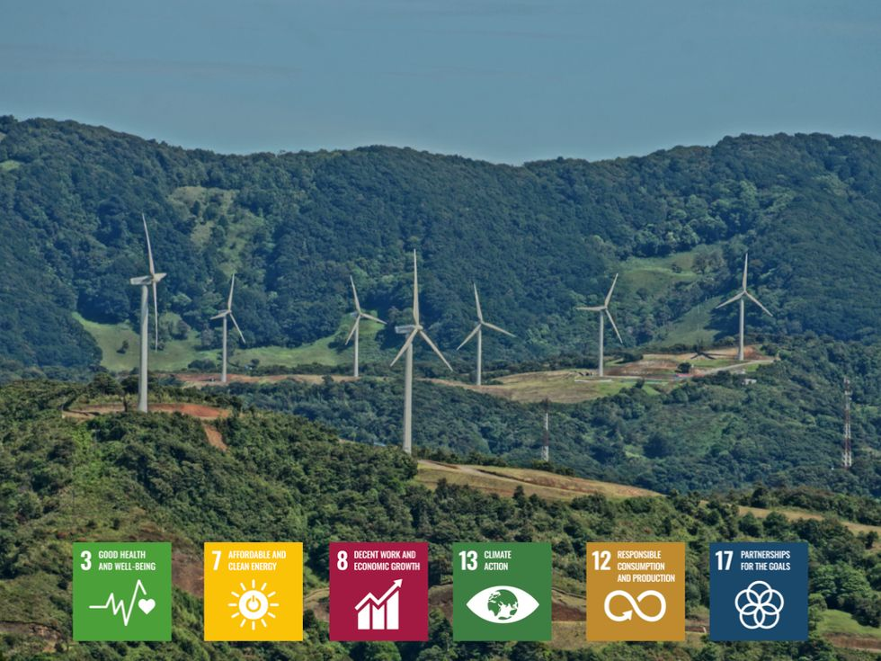 Los Santos supports 6 of the UN Sustainable Development Goals