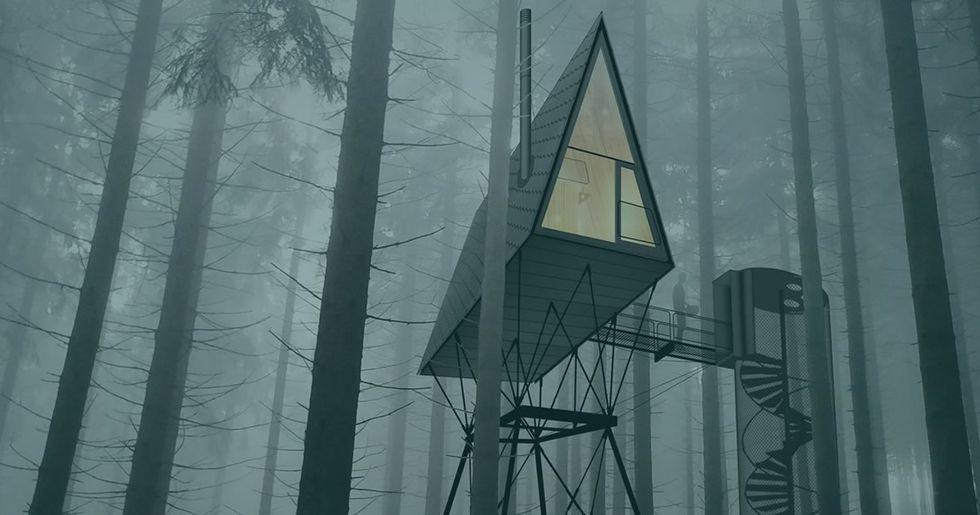 Pan tree top huts