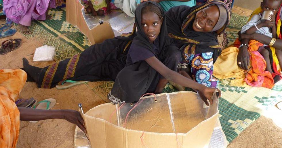 Chad, Refugee, Chad