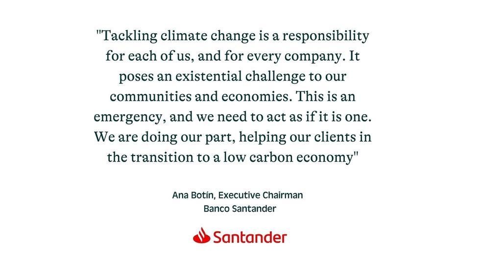 Ana Botín, Executive Chairman Banco Santander