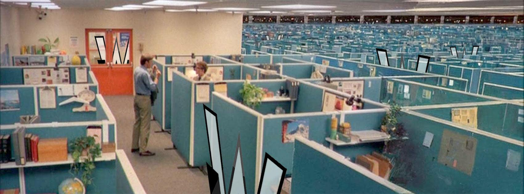 ENCOM Cubicle Farm