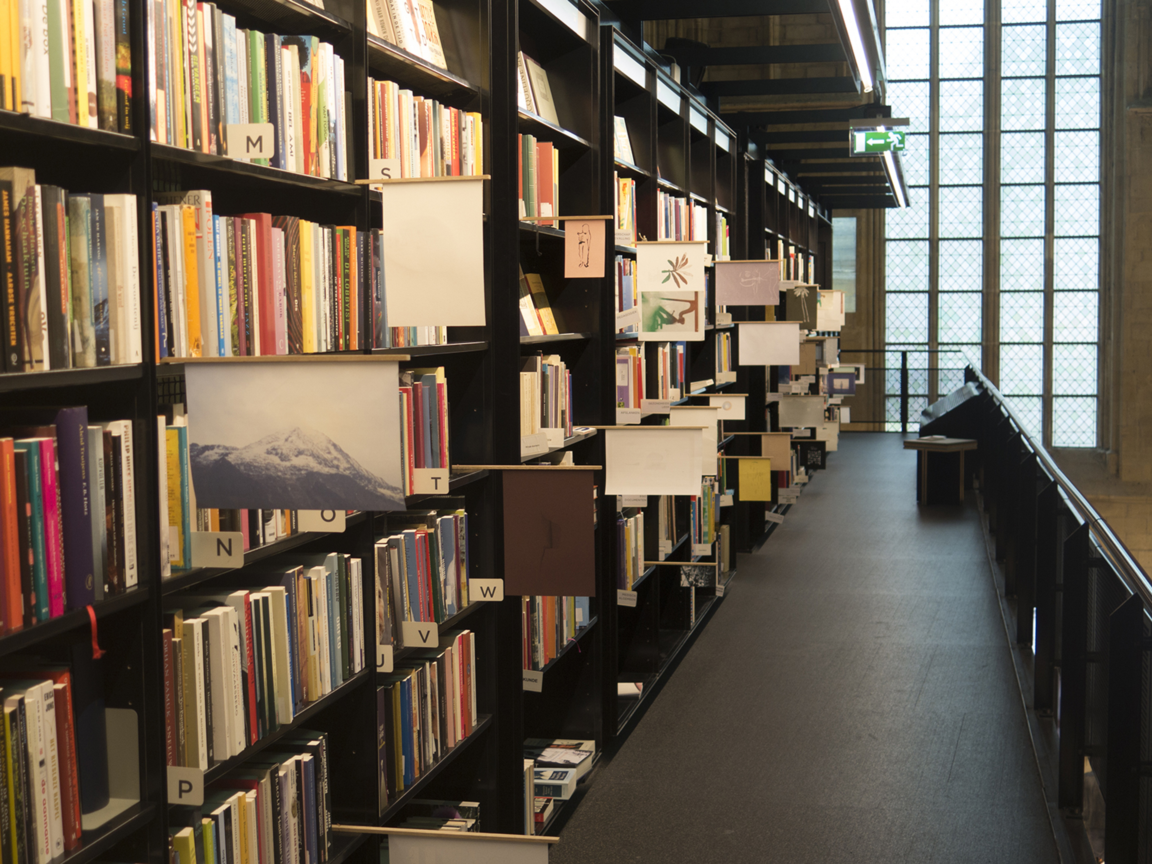 Maastricht, The Netherlands.  With Jacqueline Machado de Souza. Installation at the bookshop in the Dominican Church.