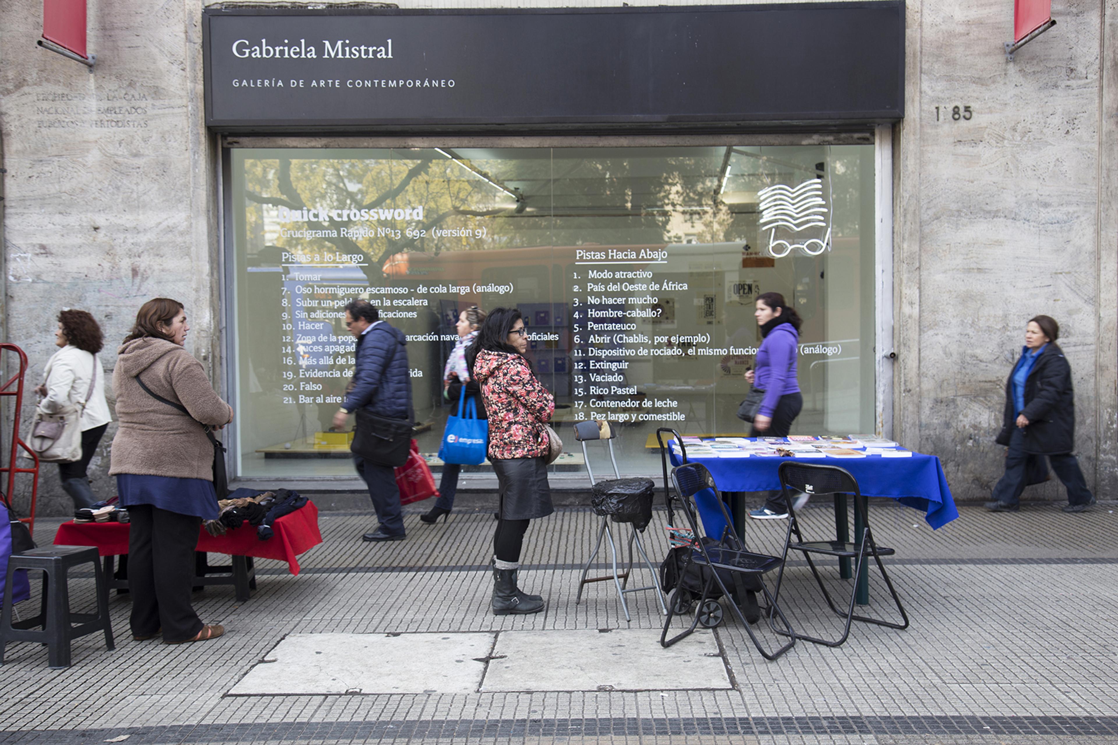 Galería Gabriela Mistral, Santiago de Chile.