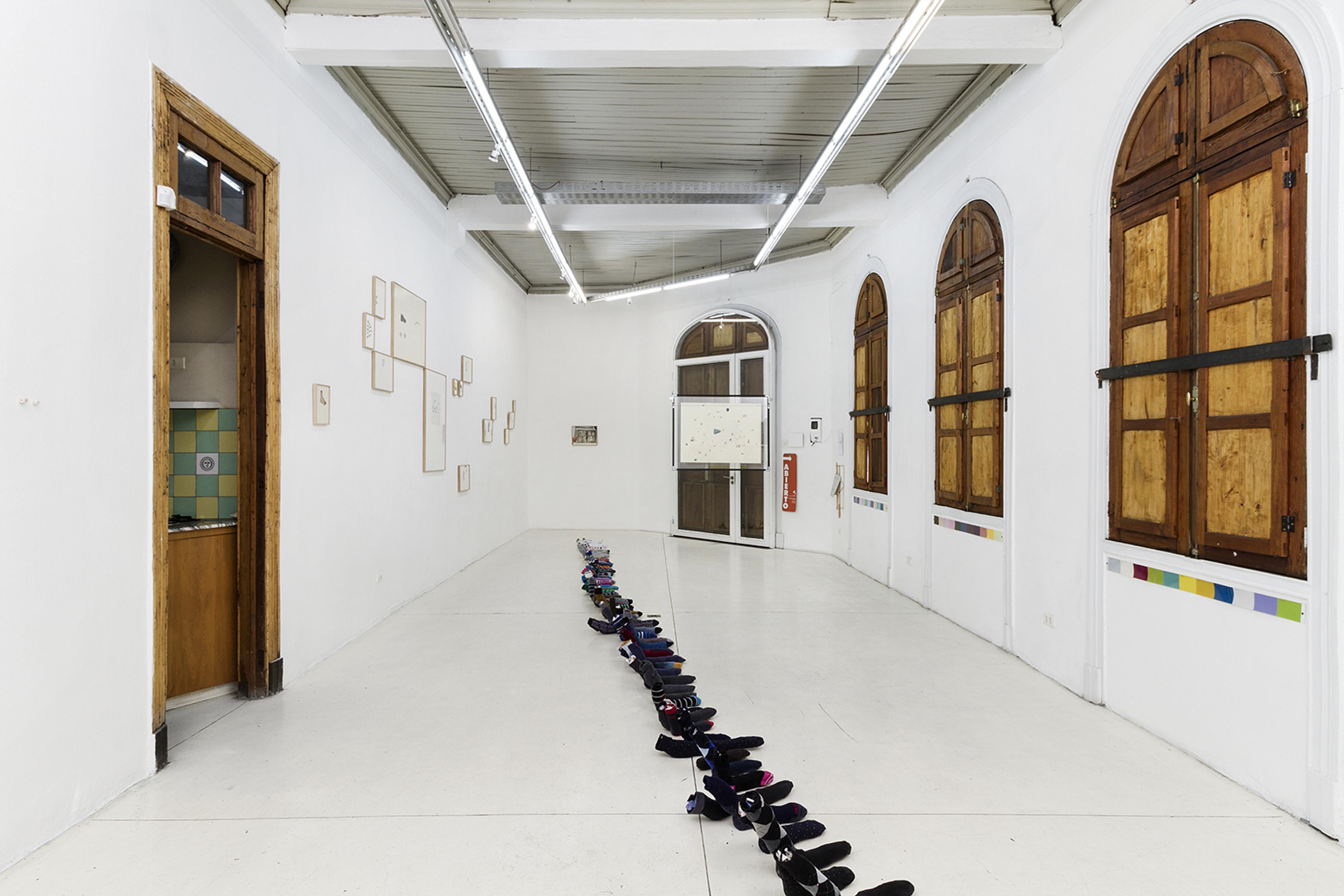 Die Ecke Arte Contemporáneo, Santiago, Chile  Text by Megumi Andrade Kobayashi here *