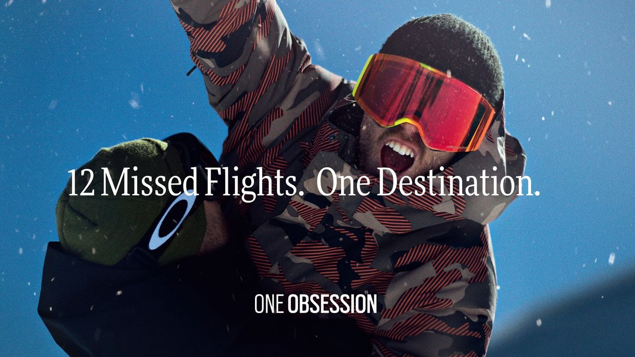 Oakley - Stale Sandbech, One Obsession