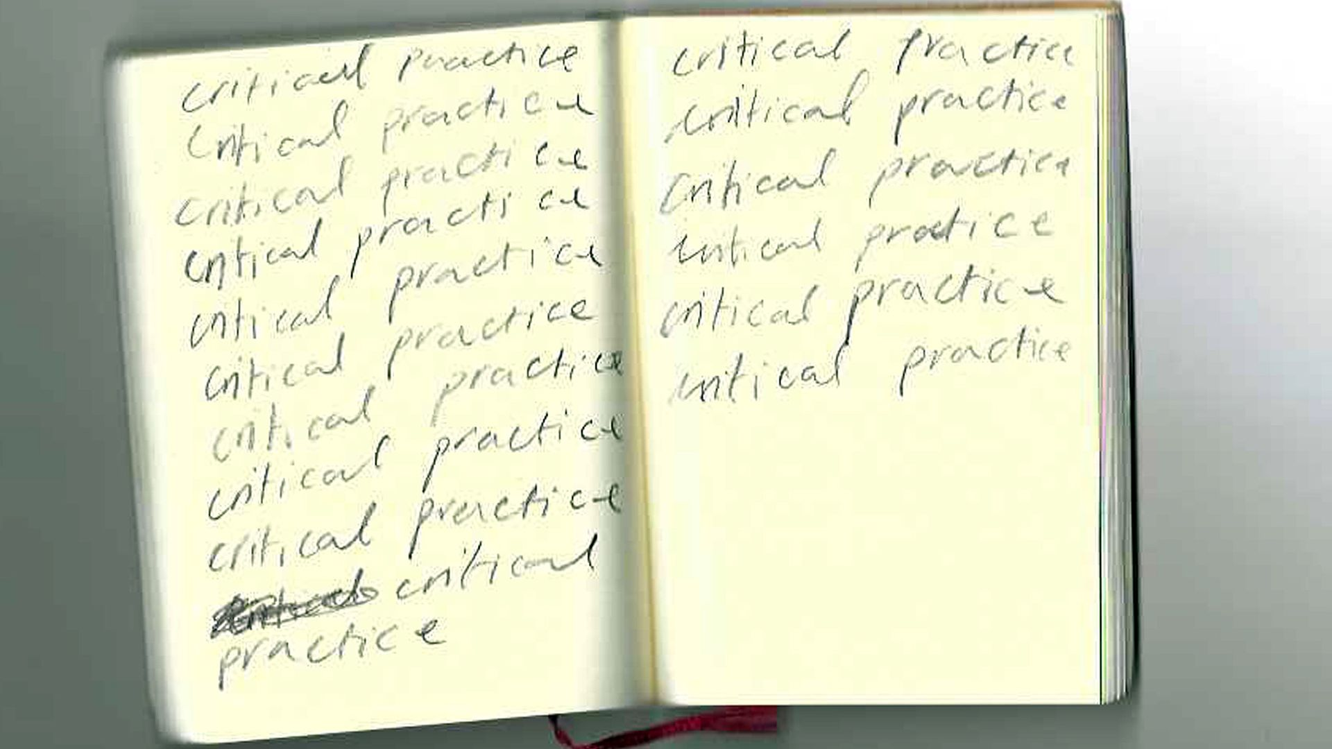 CAP Critical Practice open book