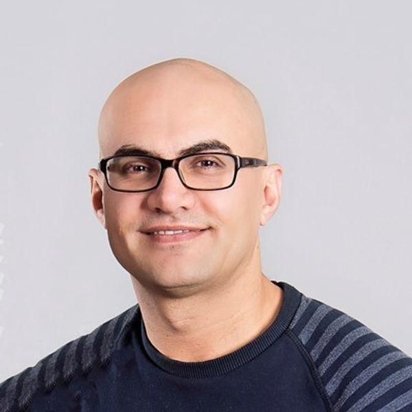 Portrait of speaker named Yaser Adel Mehraban