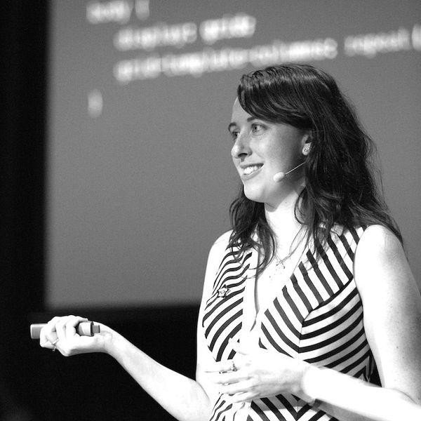 Portrait of speaker named Amy Kapernick