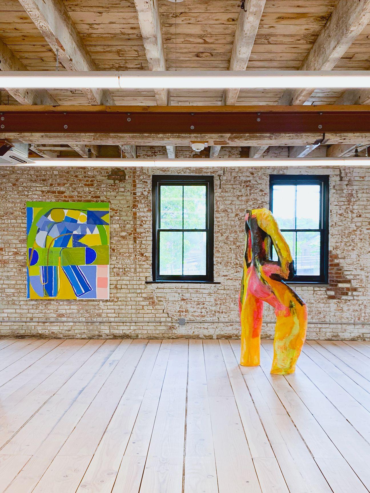 Exhibition Image, Rachel Uffner Gallery & Mrs.