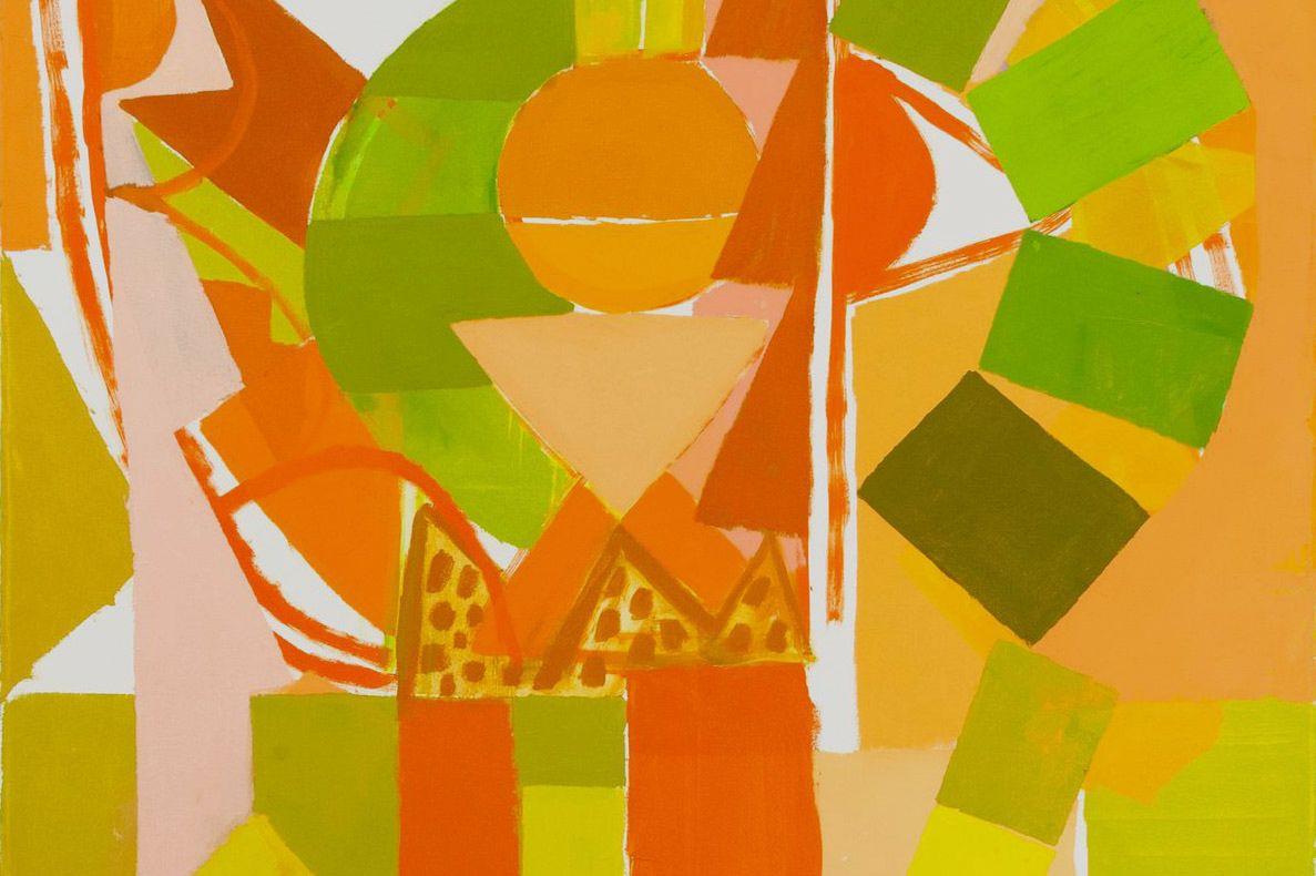 Artwork from Rachel Uffner Gallery and Mrs.