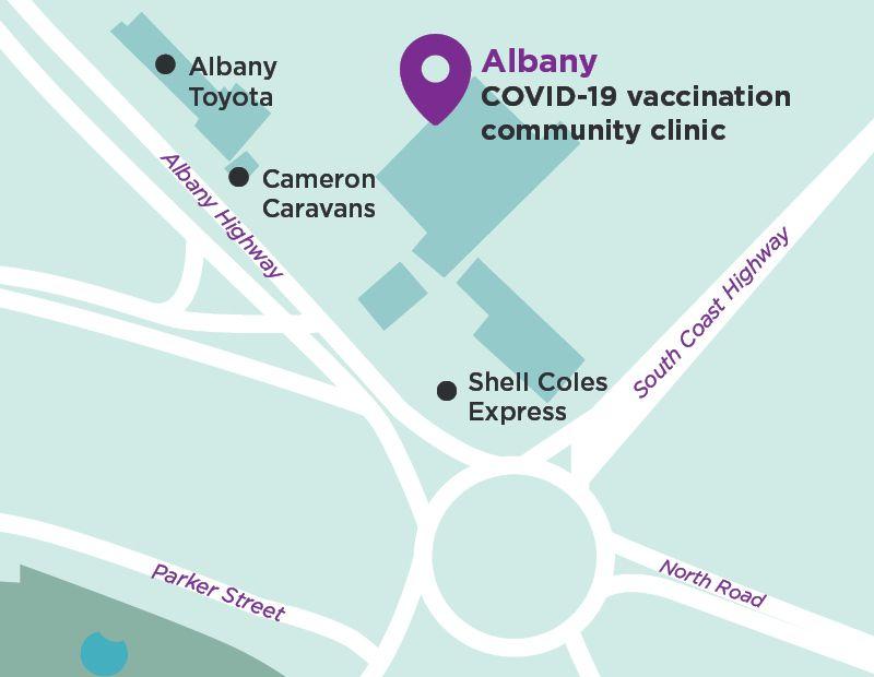 Albany COVID-19 vaccination community clinic