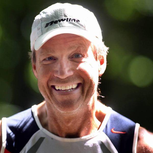 Per gunnar smiler bredt etter et løp