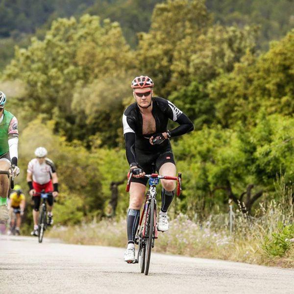christian på sykkel
