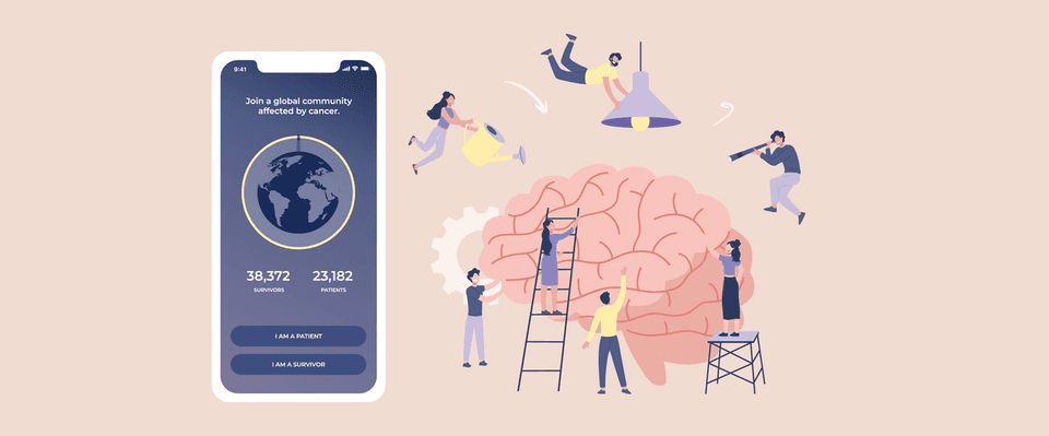 LightHouse App — An engaging tool to facilitate social support between cancer patients and survivors through conversations, gratitude practices and playful interactions.