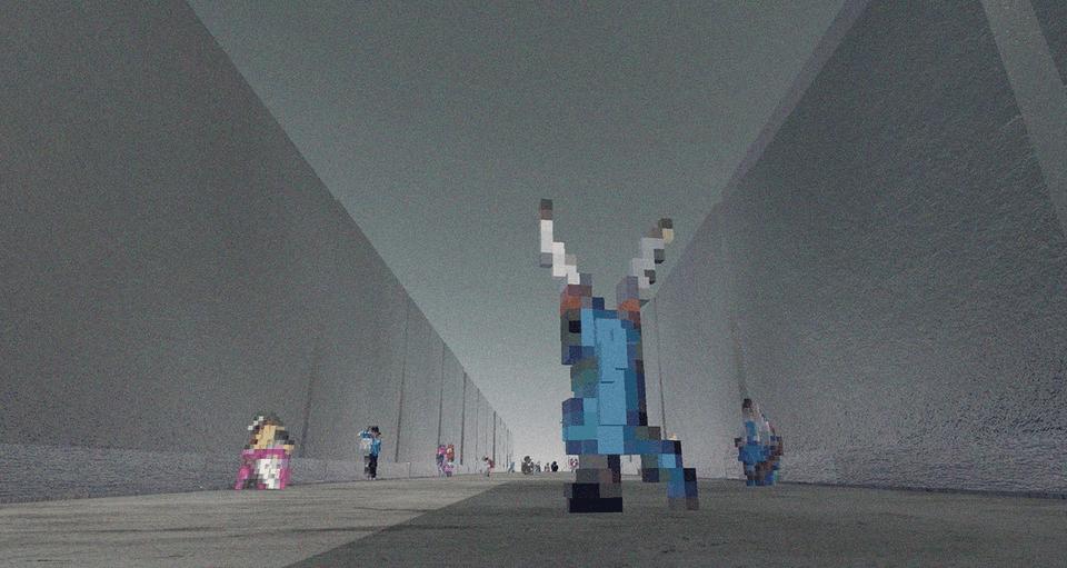 Feiqi Wang's The Radiant City