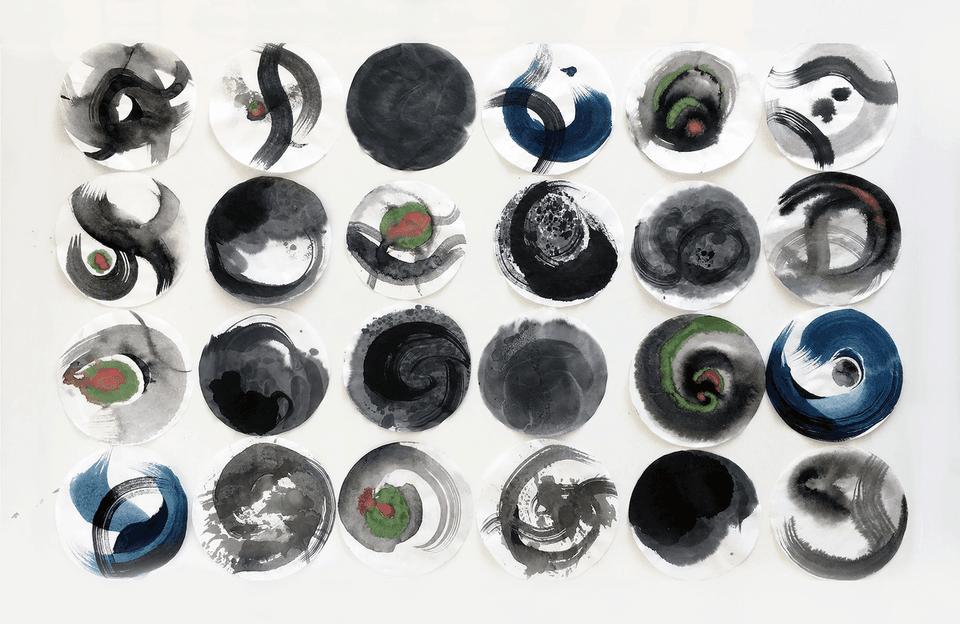 Xinwen Zhang's Calligraphy of Movement