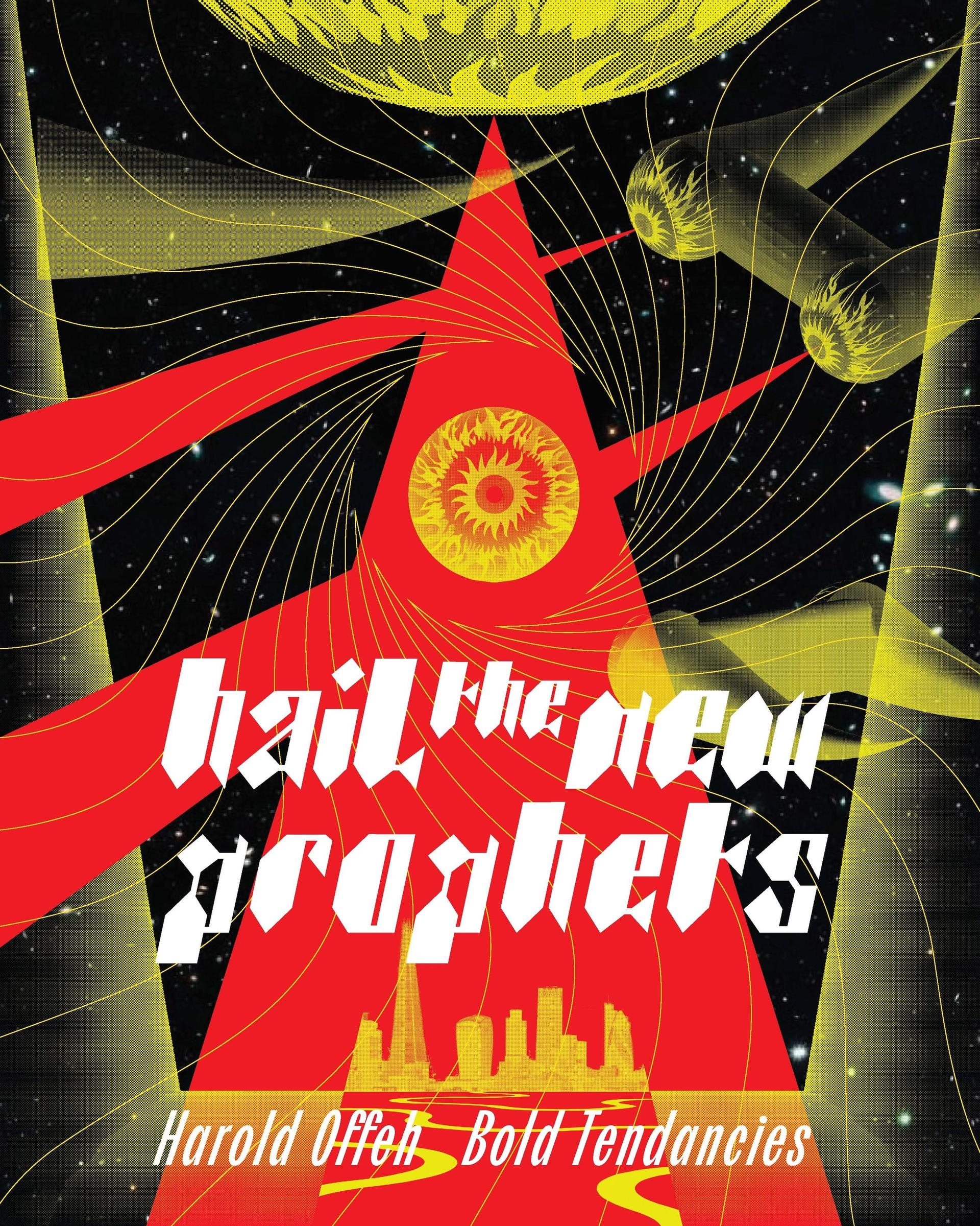 Harold Offeh, Poster: Hail the New Prophets for Bold Tendencies project, 2020