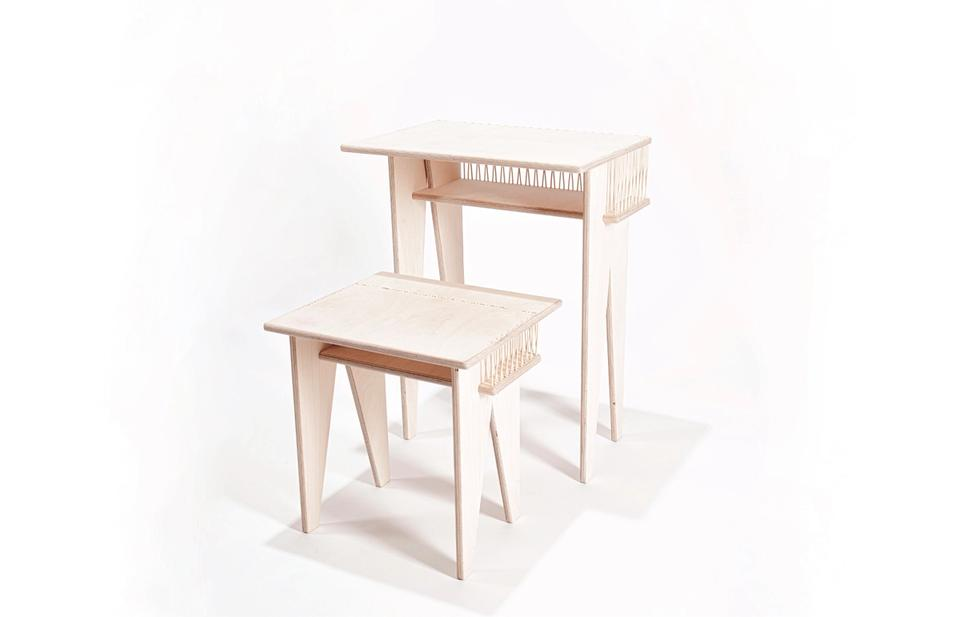 Carolina Carmona Hermenegildo's Open-source school furniture set