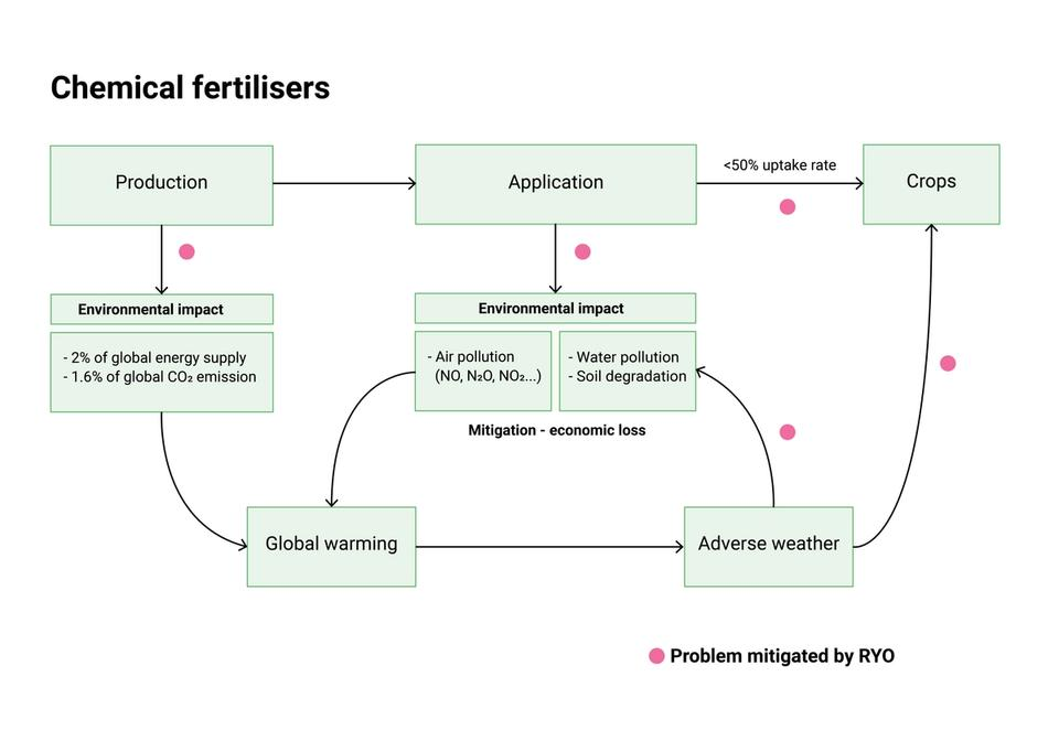Systematic problems of chemical fertilisers