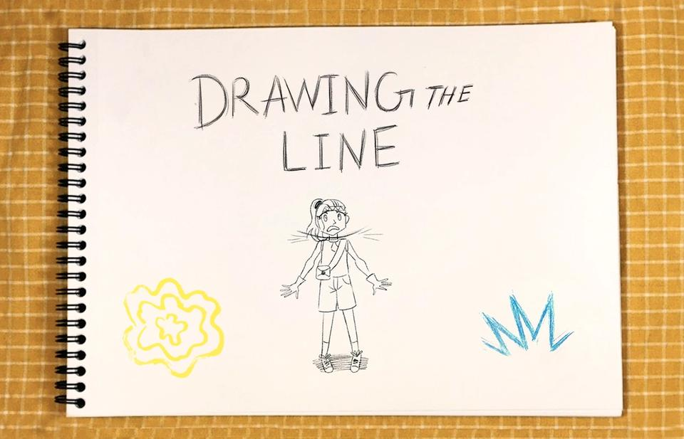Joumana Ismail's Drawing The Line