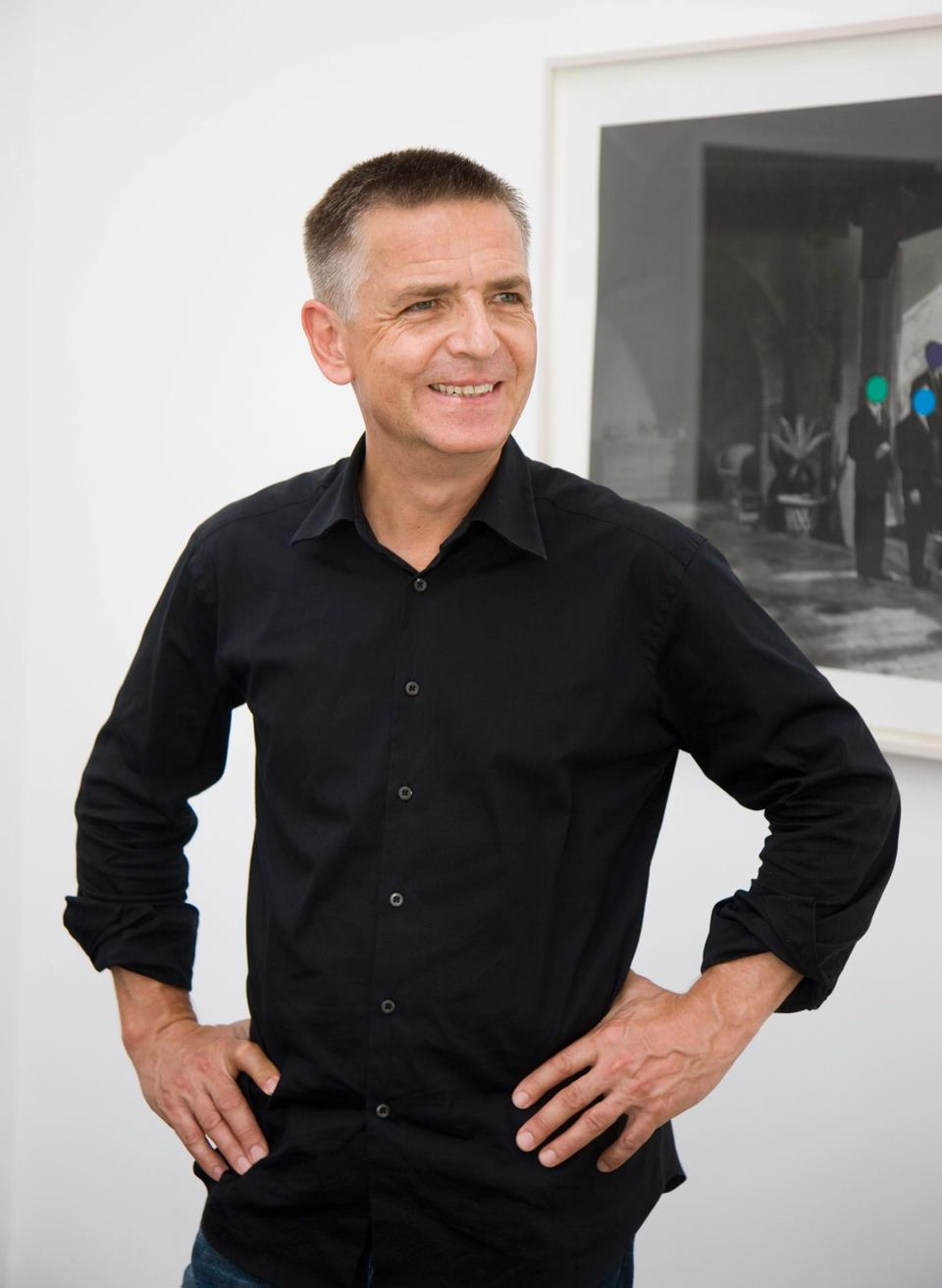 Photo of Professor Andreas Gursky