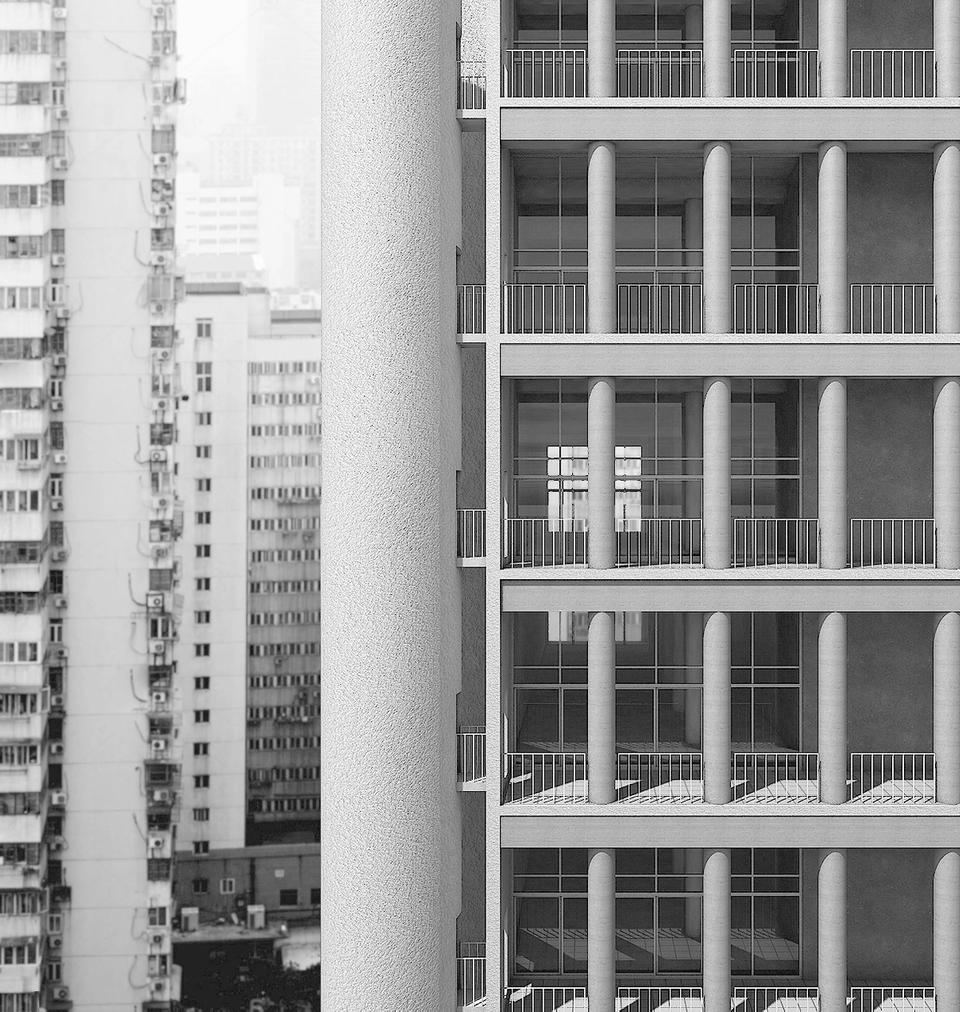 Monumental Intimacy: a high rise for collective living
