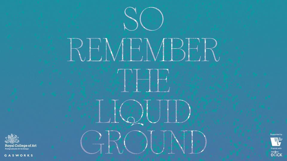 Angelina Li's remember liquid ground