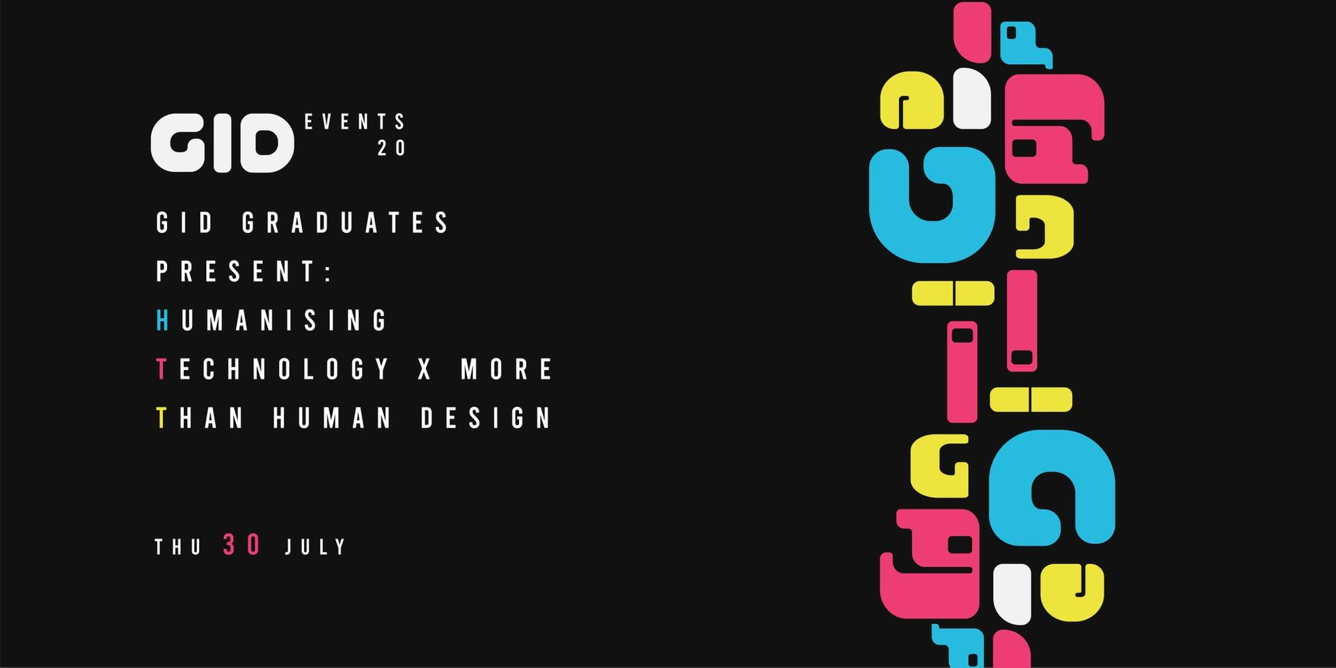 RCA2020 Events_GID Humanising Technology