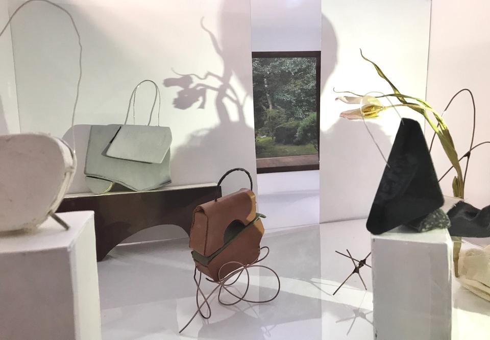 Luwen Huang's Handbag Arrangement Concept Store