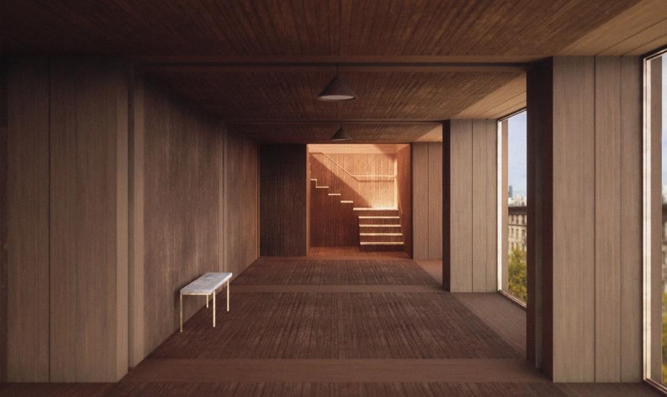 Jonny Ryley's The Corridor within The Urban Monastery