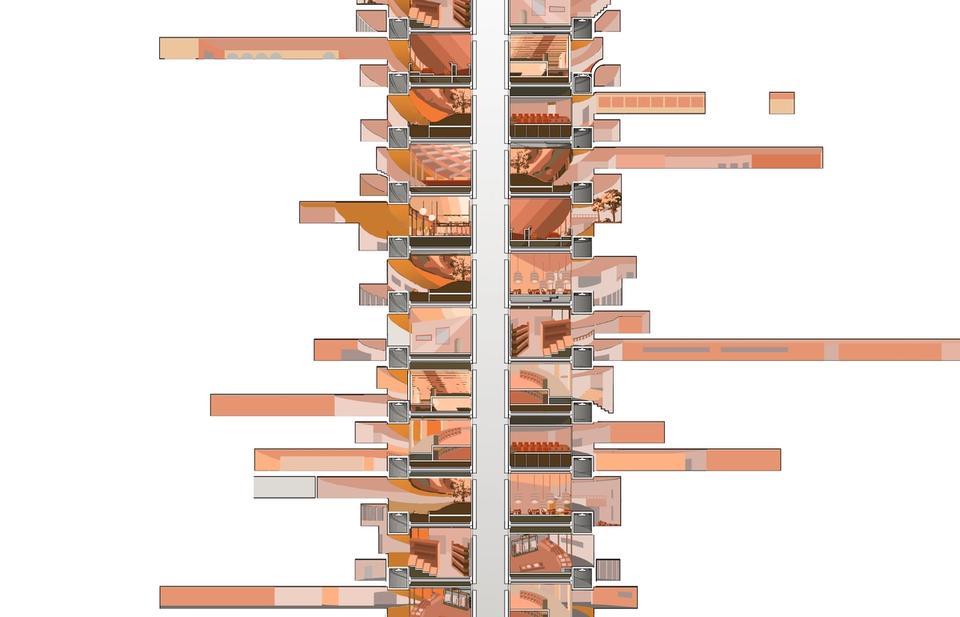 Issey Fang's Vertical Street