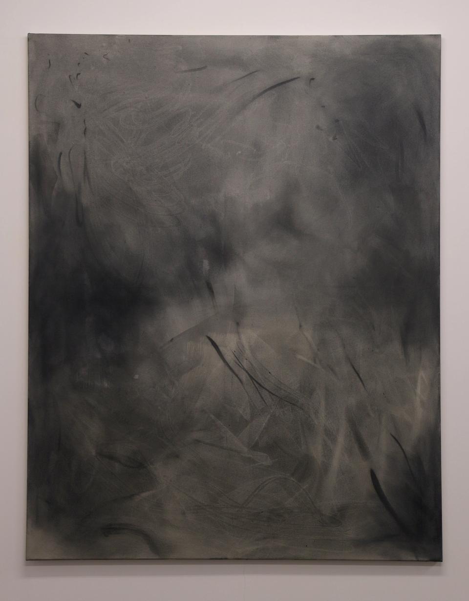Half light, acrylic and oil on canvas, 165 x 130cm
