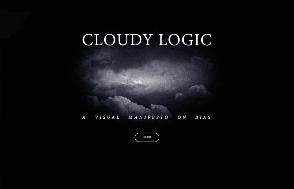 Erik Lintunen's Cloudy Logic: A Visual Manifesto on Bias (The Temple of Apollo)