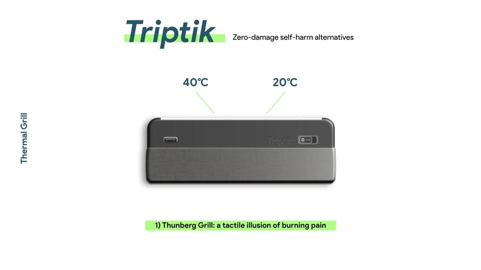 Thunberg Grill: a tactile illusion of burning pain