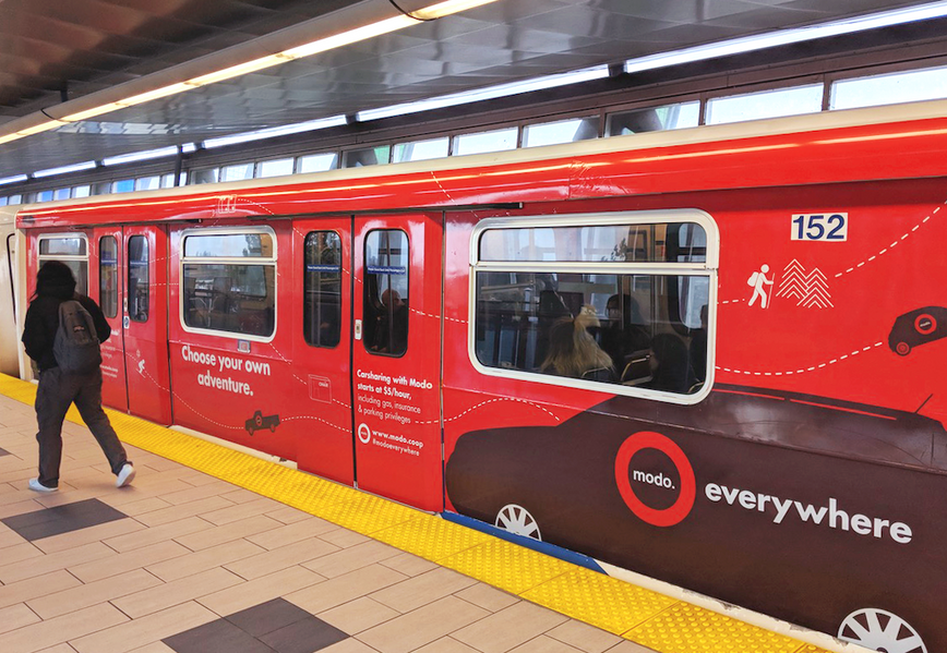 brand identity, campaign, transit campaign, transit advertising, communications, advertising