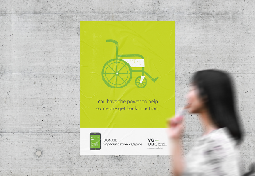 Campaign design, fundraising, advancement, not for profit, hospital foundation, art direction