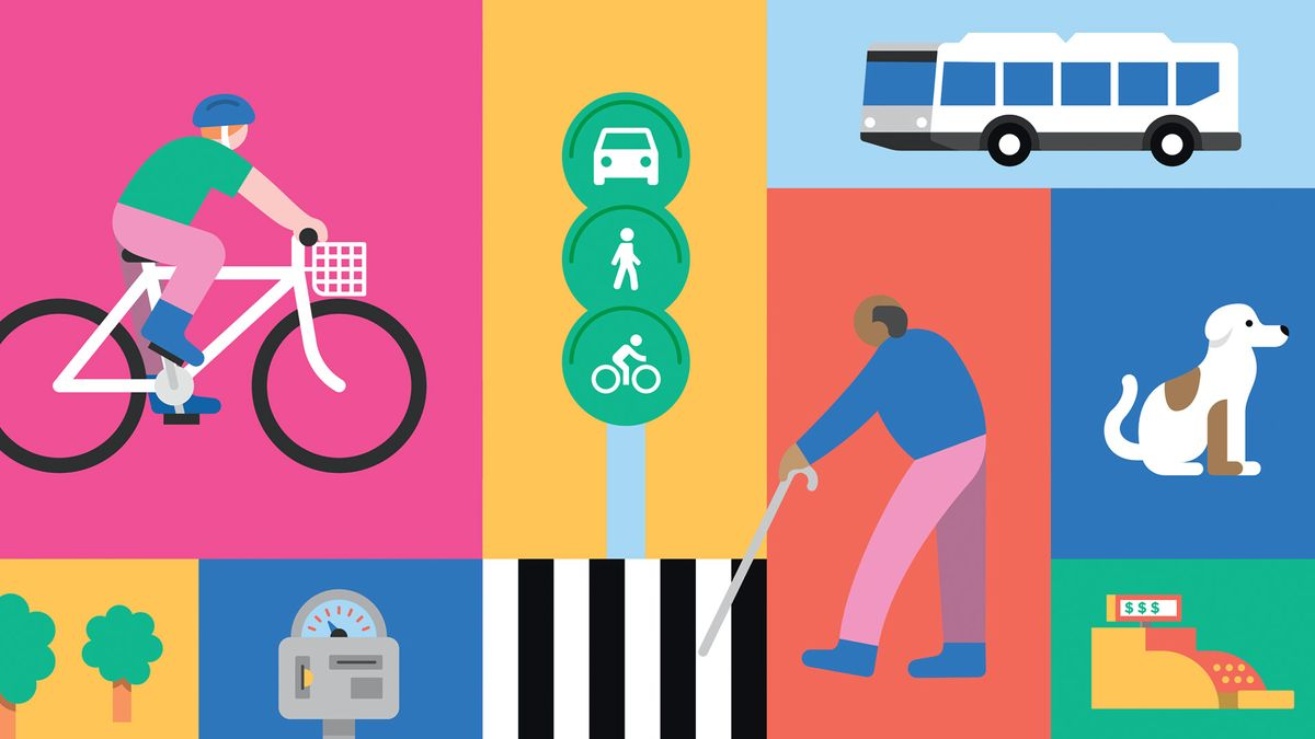 City of Victoria, multi-modal campaign